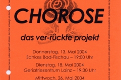 CHOROSE_Mai 2004