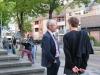 Prof. Lochner & Stani, vor Christuskirche Jülich
