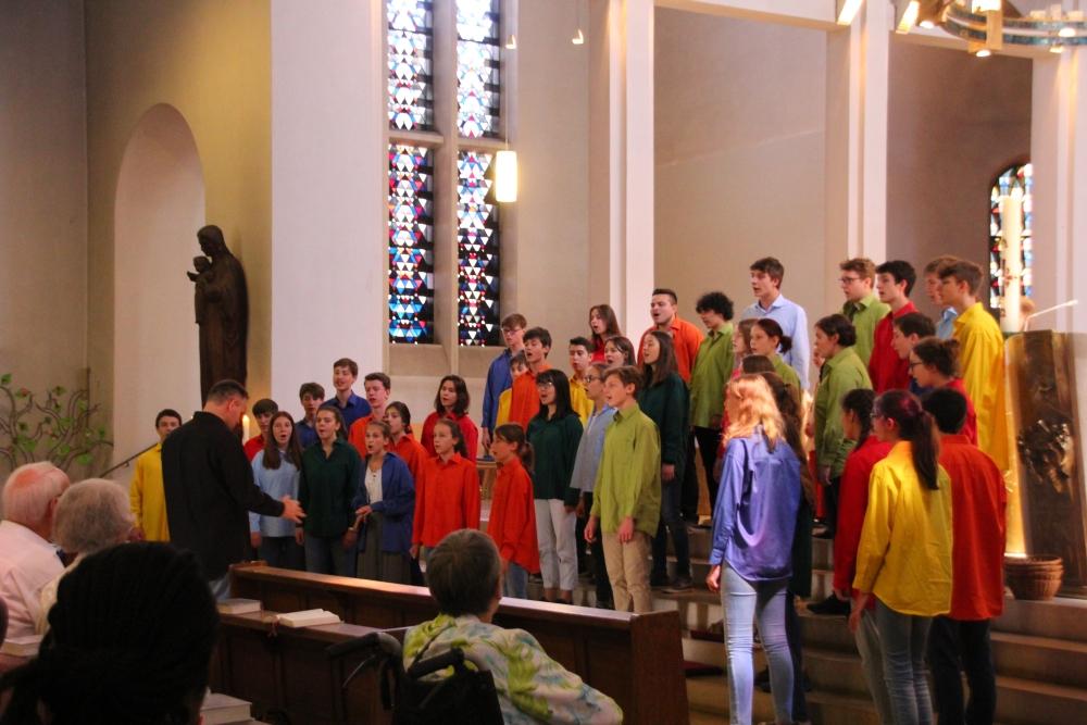 Messe - Abschlusslied, Propsteikirche Jülich