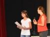 Amelie übernimmt unsere Urkunde, Jun 2018