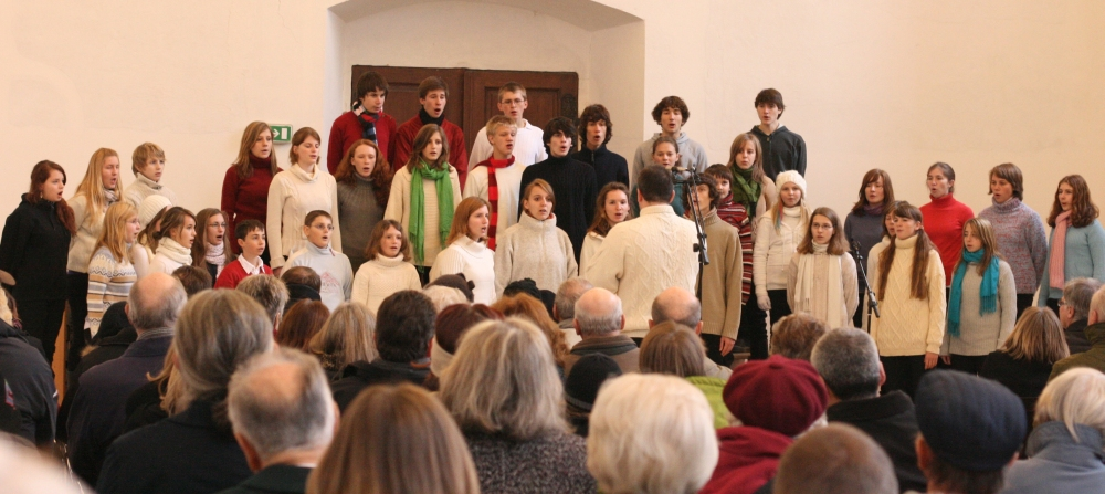 2009 Mauerbach, Adventsingen in der Kartause
