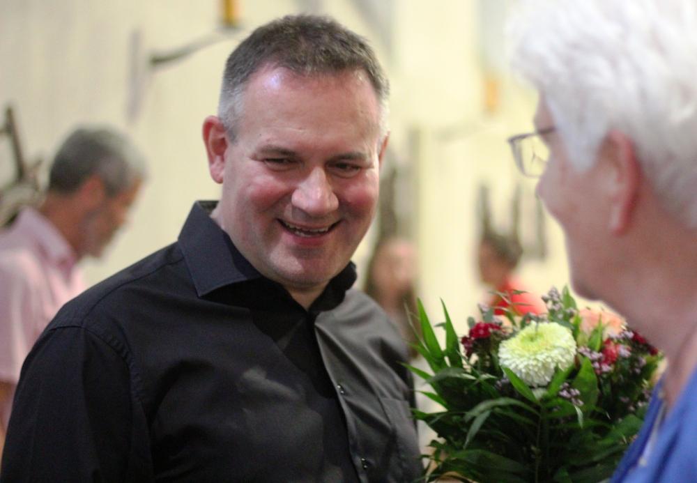 nach Konzert in Propsteikirche Jülich, Mai 2019