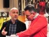 mit Josep Vila im Musikzimmer des BRG 14, Nov 2017