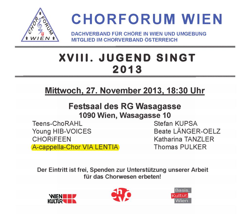 Plakat Jugend singt 2013_Bild