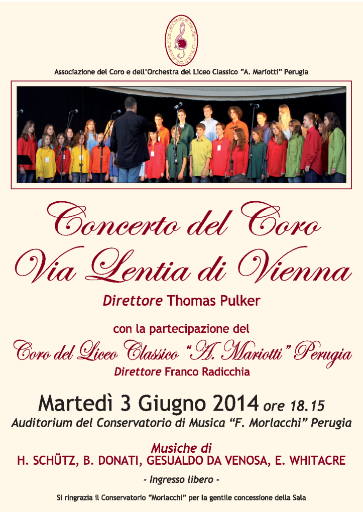 Concerto Coservatorio Perugia