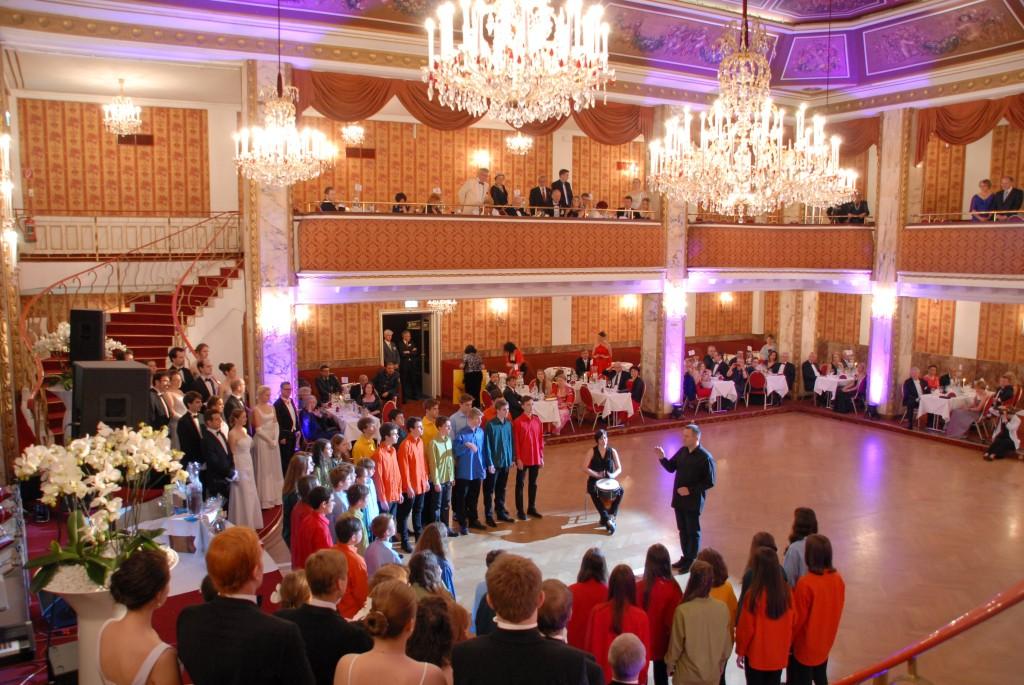 Orchideenball im Parkhotel Schönbrunn - Eröffnung, Mai 2015
