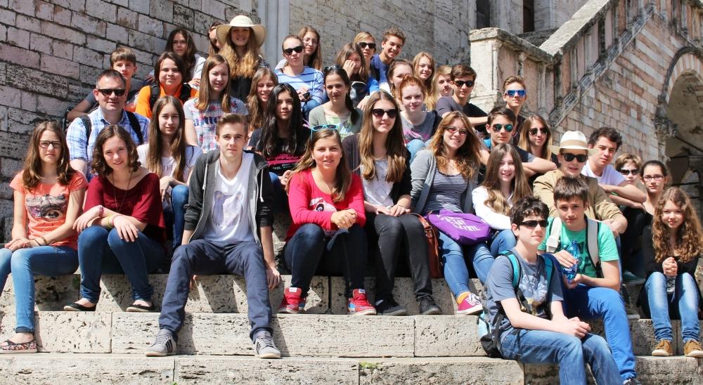 2014 Perugia, vor Palazzo dei Priori