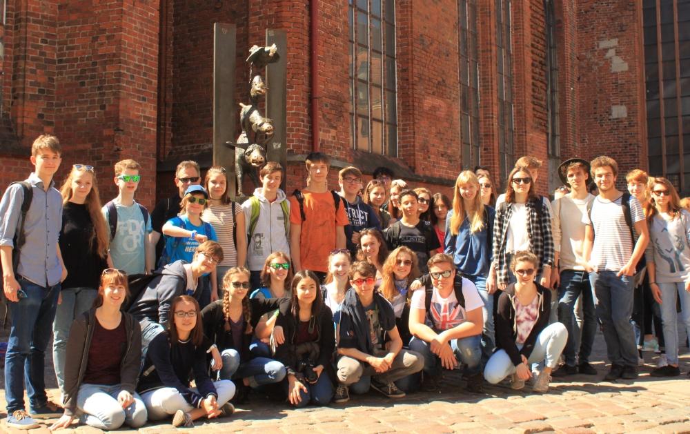 2017 Riga, vor dem Dom